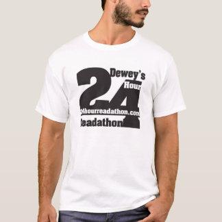 T-shirt de Readathon da hora de Dewey 24