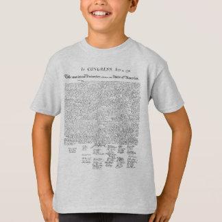 T-shirt Declaração de independência