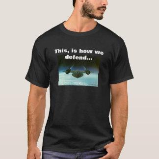 T-shirt defesa nacional