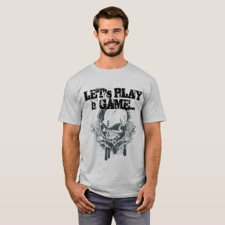 T-shirt Deixe-nos jogar um jogo