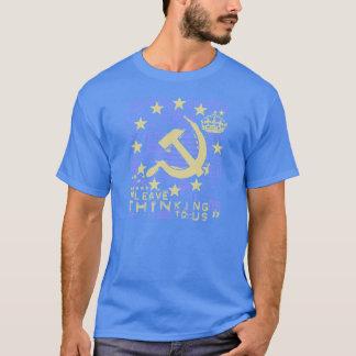 T-shirt Deixe-nos o pensamento