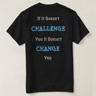 T-shirt Desafio dos homens