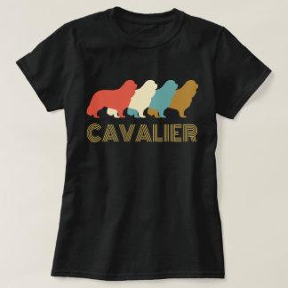 T-shirt descuidado do Spaniel de rei Charles do