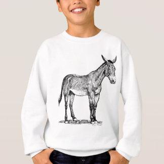T-shirt Desenho da mula, teimoso