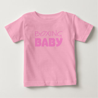 T-shirt Desgaste do bebé do encaixotamento