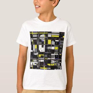 T-shirt Design do abstrato do costume de Destructured