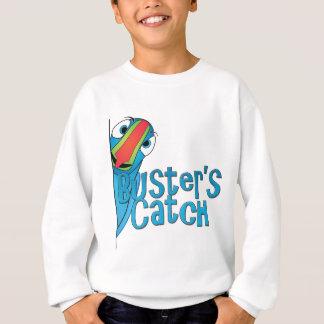 T-shirt Design do logotipo da captura do imbecil