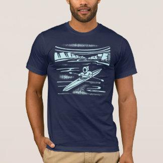 T-shirt Design gráfico do caiaque do Inuit