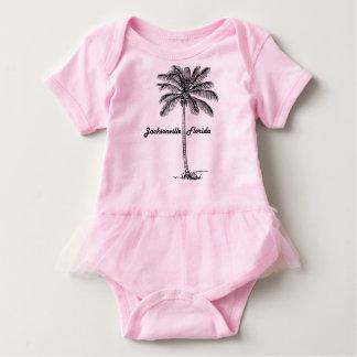 T-shirt Design preto e branco de Jacksonville & de palma
