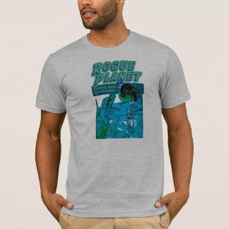 T-shirt desonesto do cobrir de banda desenhada do