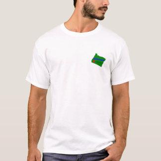 T-shirt desonesto do país