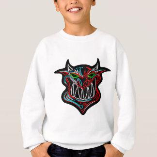 T-shirt Diabo de néon dos desenhos animados
