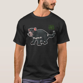 T-shirt Diabo tasmaniano