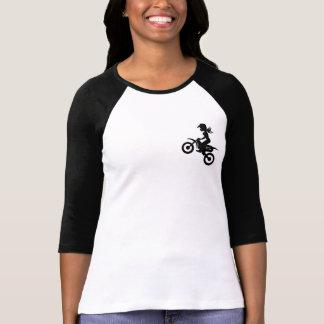 T-shirt Diamantes do dirtbike de BODB não