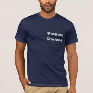 T-shirt Diários da pesca - Aquário