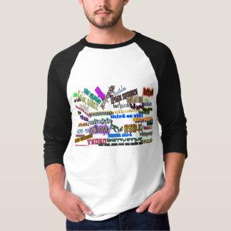 "T-shirt Diga a ""boa vinda"" dentro sobre 30 línguas"