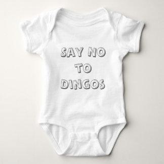 T-shirt Diga não aos Dingos