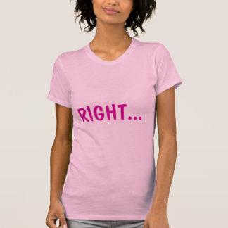 T-shirt Direito