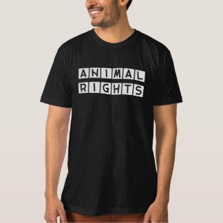 T-SHIRT DIREITOS DE OS ANIMAIS
