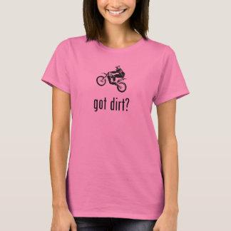 T-shirt Dirtbike obtido da bicicleta da sujeira offroad