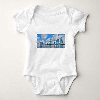 T-shirt Distrito financeiro do centro de Jacksonville