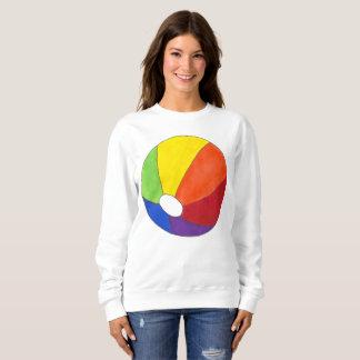 T-shirt Divertimento do verão das férias de Beachball da