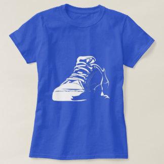 T-shirt do amante da sapatilha
