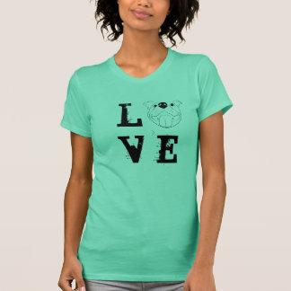 T-shirt do AMOR do pitbull