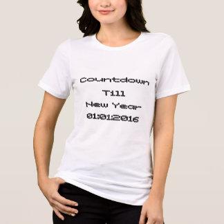 T-shirt do ano novo