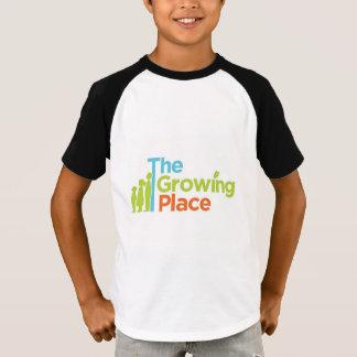 T-shirt do basebol da juventude