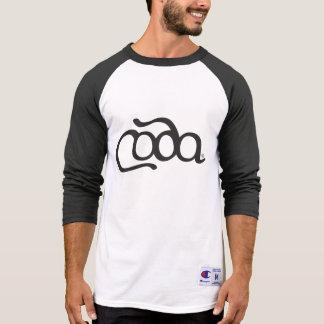 T-shirt do basebol do CODA