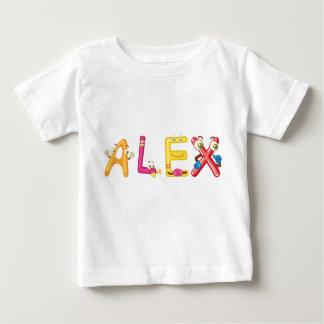 T-shirt do bebê de Alex