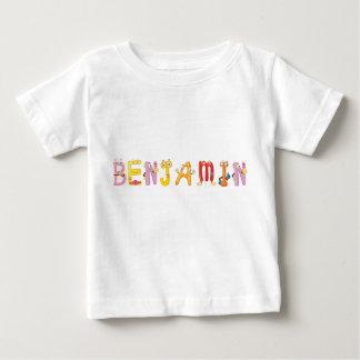 T-shirt do bebê de Benjamin