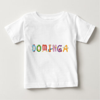 T-shirt do bebê de Dominga