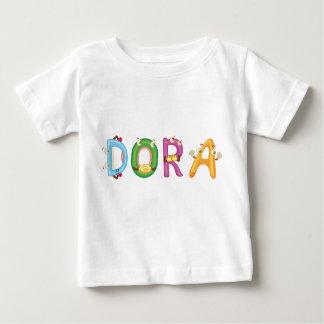 T-shirt do bebê de Dora