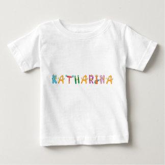 T-shirt do bebê de Katharina