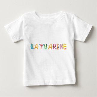 T-shirt do bebê de Katharine