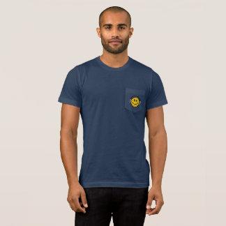 T-shirt do bolso do pólo aquático dos homens