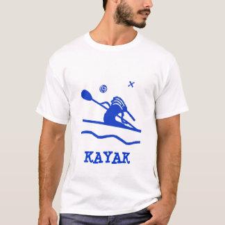 T-shirt do caiaque de Kokopelli