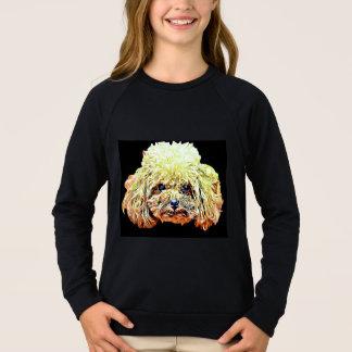 T-shirt do cão de caniche