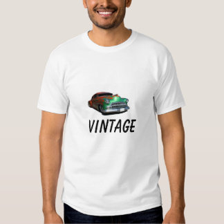 T-shirt do carro vintage