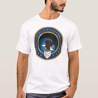 T-shirt do comando USCYBERCOM do Cyber dos E.U.