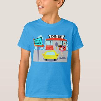 t-shirt do comensal dos anos 50