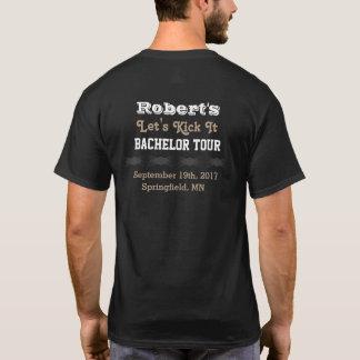 T-shirt do concerto do despedida de solteiro