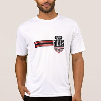 T-shirt do concorrente do Esporte-Tek dos homens