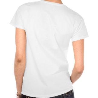 T-shirt do coração do Mau-Anjo