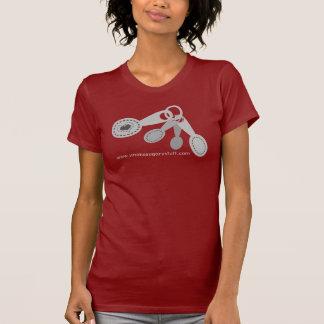 T-shirt do cozimento do cozinhar do coração das co