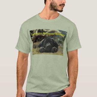 T-shirt do crente de labrador retriever