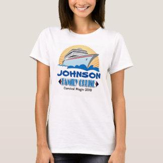 T-shirt do cruzeiro da família