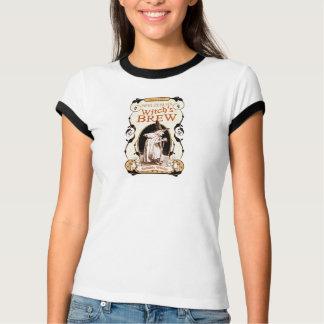 T-shirt do Dia das Bruxas da fermentação da bruxa